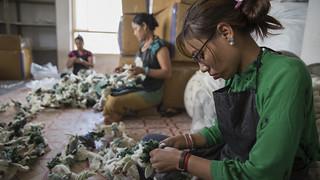 Women Stitch Handicrafts | by World Bank Photo Collection