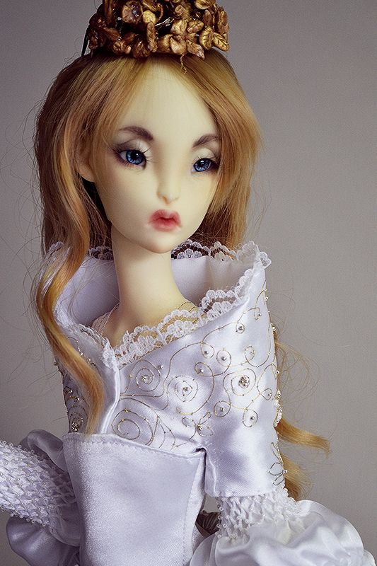 Lillycat SD doll on Lune body
