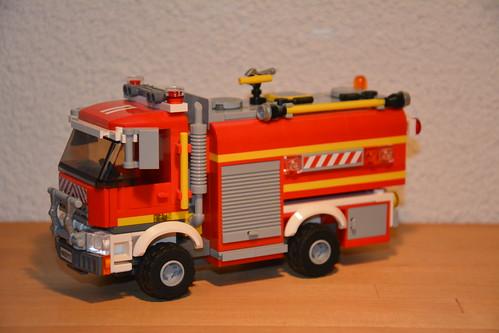Lego City 4x4 Water Tender 11, Fire Service Israel, Tel Av ...