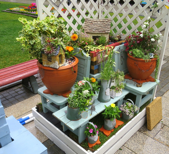 Potted and hanging plants - Sapporo