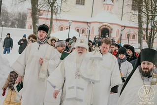 Литургия в Иверском монастыре 470