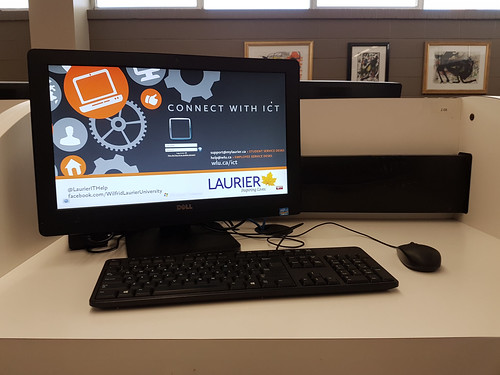 Laurier Library Public Workstation