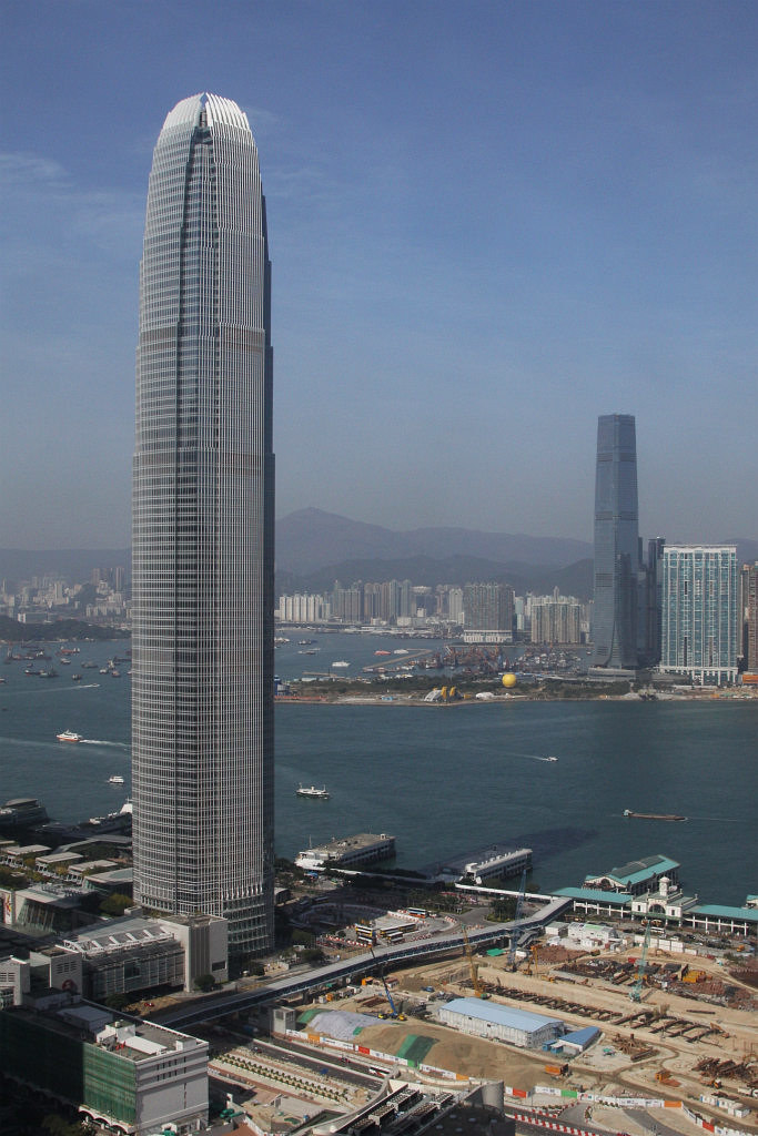 The Two Tallest Building Of Hk  Ifc Two And The Icc