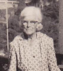 Augusta Curgenven 1967 aged 87