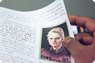 2011.5. Radioactive: Marie & Pierre Curie: A Tale of Love and Fallout (Lauren Redniss)   by meeralee