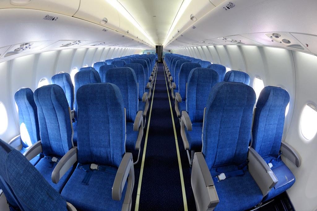 Sukhoi SuperJet 100 Cabin | SSJ100 interior - SN95005 Cabin