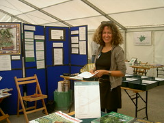 Kay at the Green Living Fair 2003