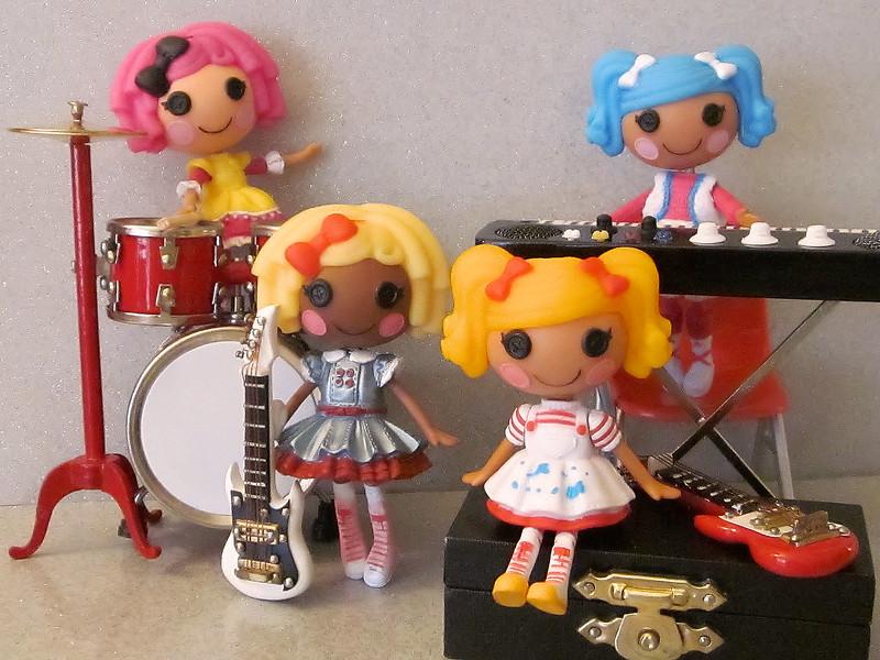 Mini Lalaloopsy Rock Band
