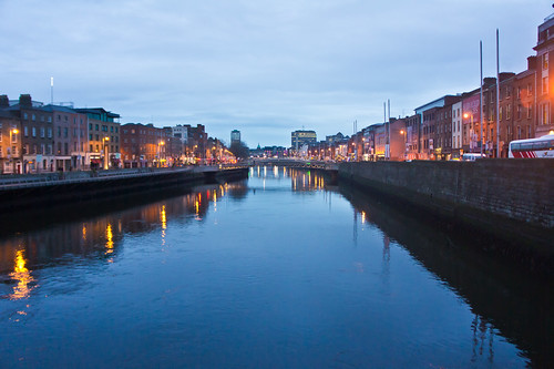 The Liffey At Night - Streets Of Dublin | by infomatique