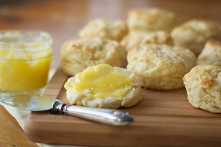 Buttermilk Biscuits with Lemon Curd | by Jordana Lea
