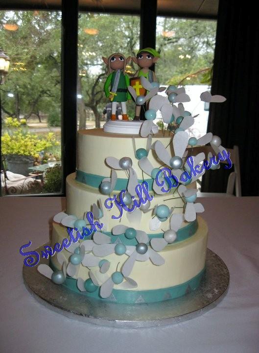 Zelda Wedding Cake Serves 130 Sweetishhillbakery Flickr