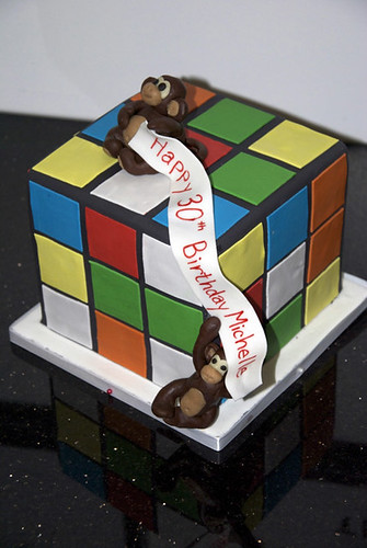 Rubik's Cube Cake | by margaret_wiltshire