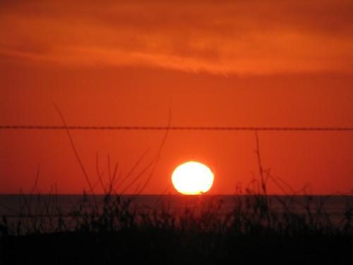 sunset mendocino