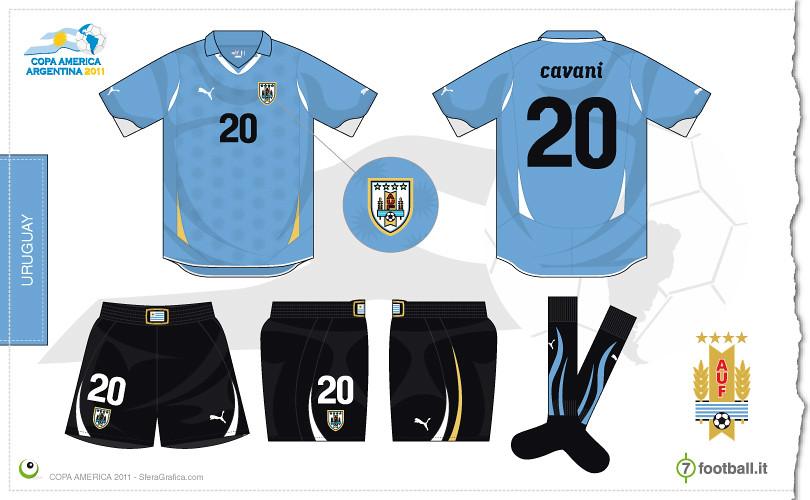 b43add6a885 Uruguay Copa America 2011 home kit | Sergio Scala | Flickr