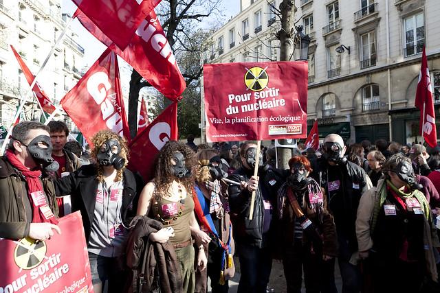 Anti-Nuclear Demonstration (02) - 20Mar11, Paris (France)