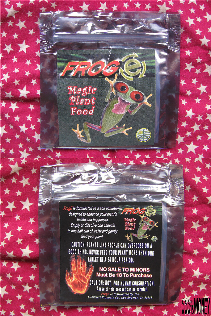FrogE Magic Plant Food | Friend said FrogE was mimic cocaine… | Flickr