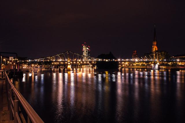 City Night Lights (Frankfurt, Germany)