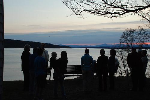 sunrise easter camelshump lakechamplain westportny