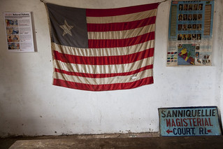 View inside Liberian Magisterial Court | by United Nations Photo