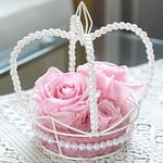 パールクラウン/ピンク(Crown Pearl /pink):flower arrangement