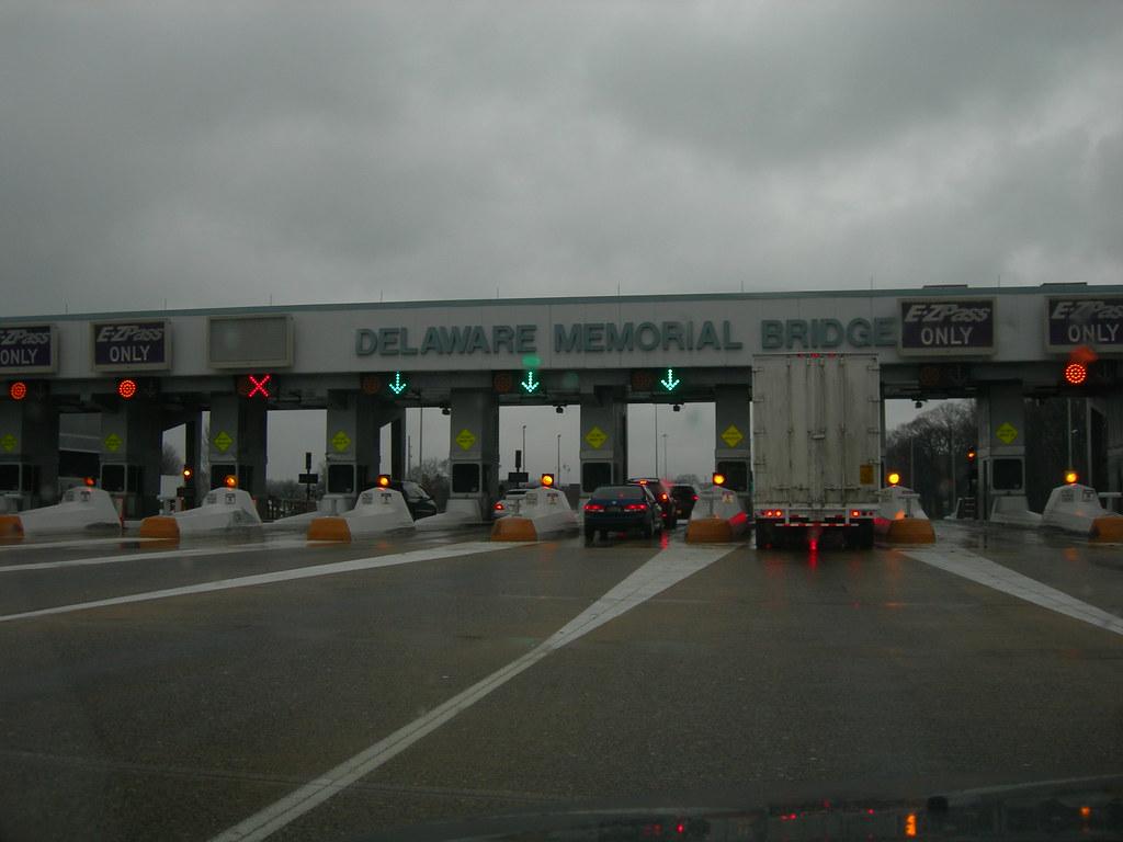 By Photo Congress    Ez Pass Toll Delaware Memorial Bridge