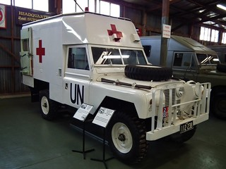 1963 Land Rover Series 2A 109in WB ambulance - United Nations