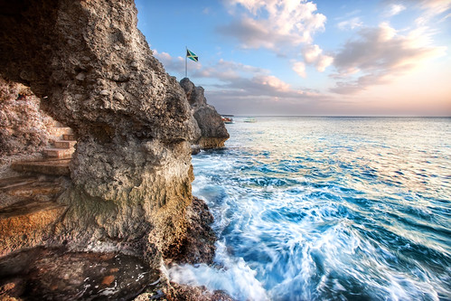 'Where the Ocean Meets the Sky', Jamaica, Negril, West Side Cliffs | by WanderingtheWorld (www.ChrisFord.com)