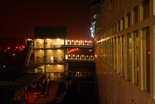 Queen Mary - Elevators and Gangplanks to Attraction | by Miss Shari