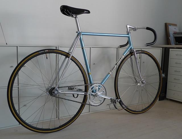 Merckx Pista - Metallic Blue
