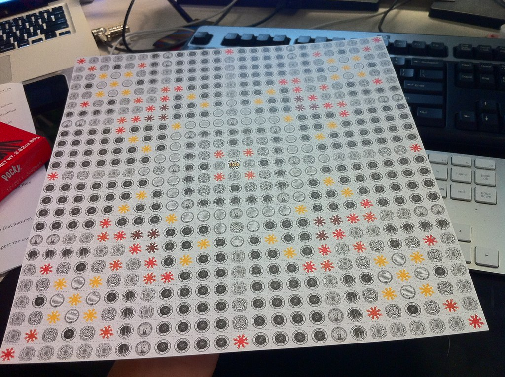 Radiohead Acid Tabs | came with @standardpixel's new vinyl o