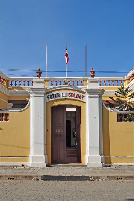 Le foyer du soldat (Pondichéry, Inde)