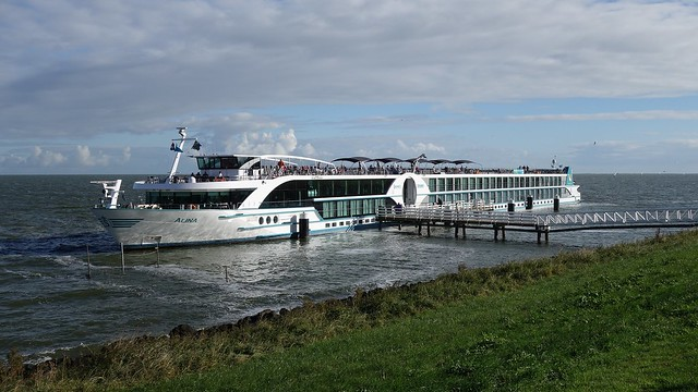 Cruise ship Alina in Medemblik (Netherlands)