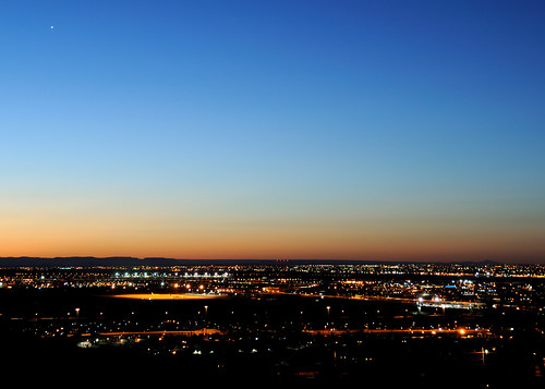 night sunrise dawn texas clear elpaso
