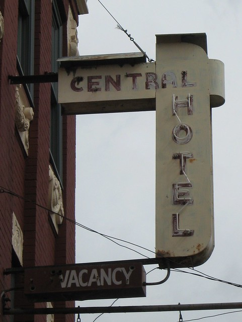 Vacancy at the Central Hotel