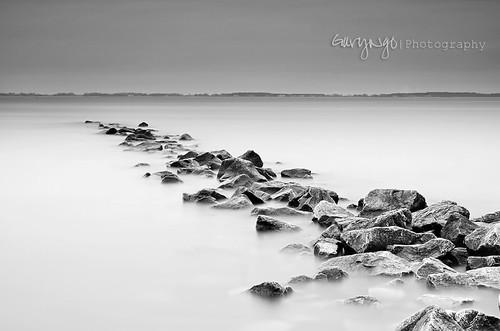 longexposure bw seascape monochrome rock landscape nikon maryland tamron f28 1750mm d7000