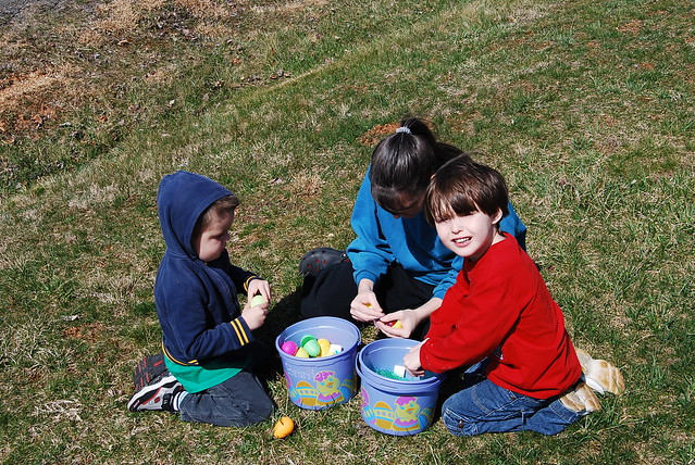 Easter Egg Hunt at Natural Tunnel State Park