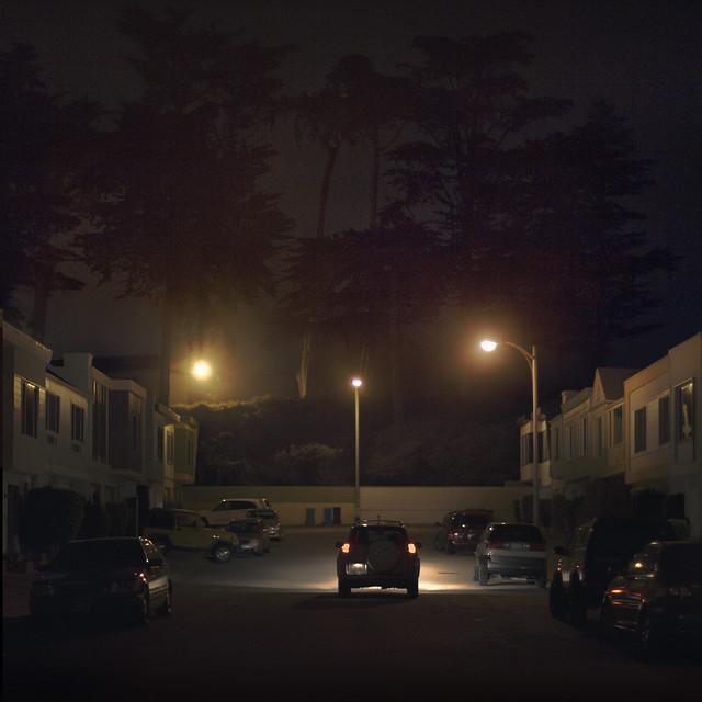 The Richmond on a Foggy Night, San Francisco (2011)