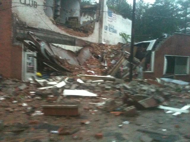 Cordova Storm Damage