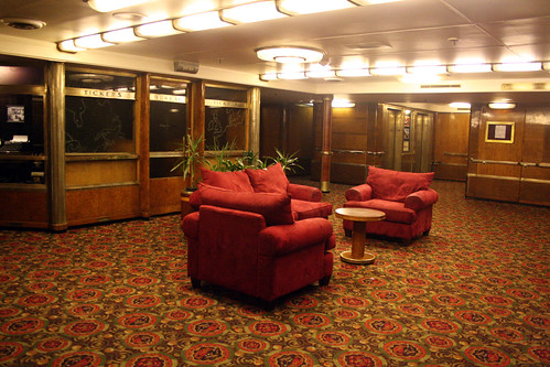Queen Mary - Former First Class Entrance - Main Deck | by Miss Shari