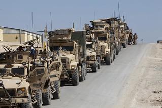 CLB-8 Marines escort new kandak to Helmand province [Image 2 of 6] | by DVIDSHUB
