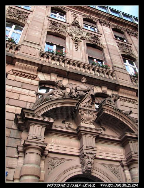 Facade, Frankfurt, Germany