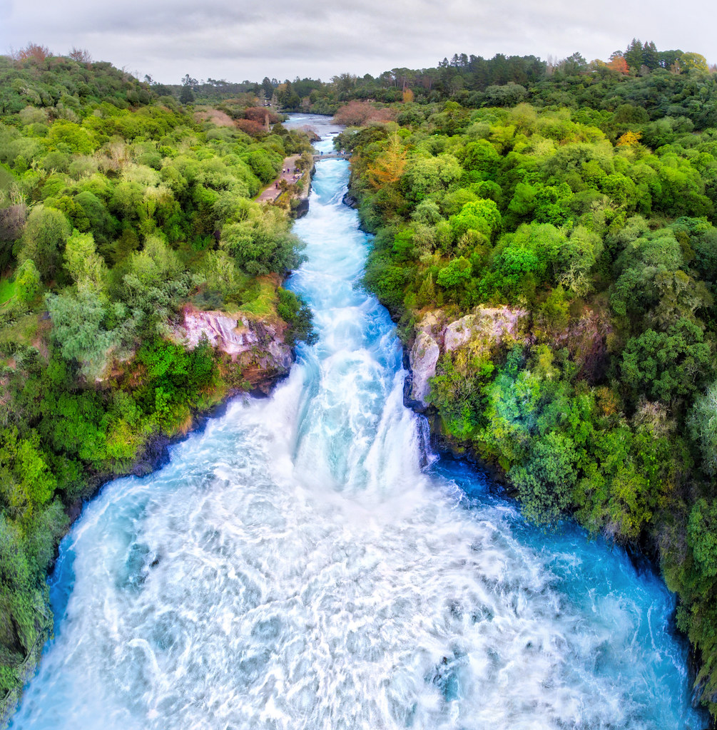 Huka Falls | Someone told me that Huka Falls is the #1 most … | Flickr