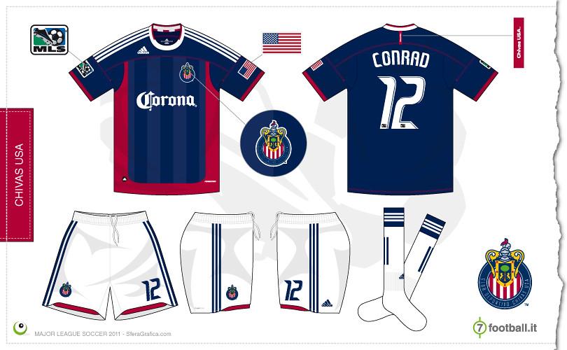 a85233536a7 ... Chivas USA 2011 away kit