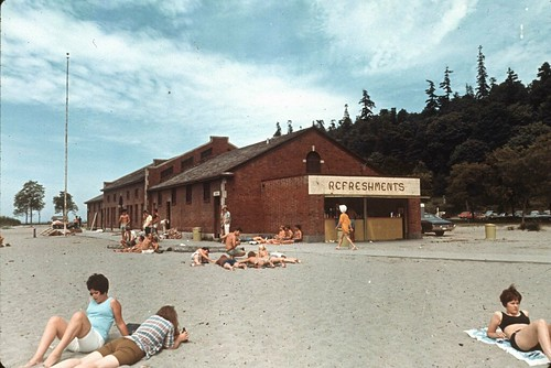 Sunbathers at Golden Gardens, 1969 | by Seattle Municipal Archives