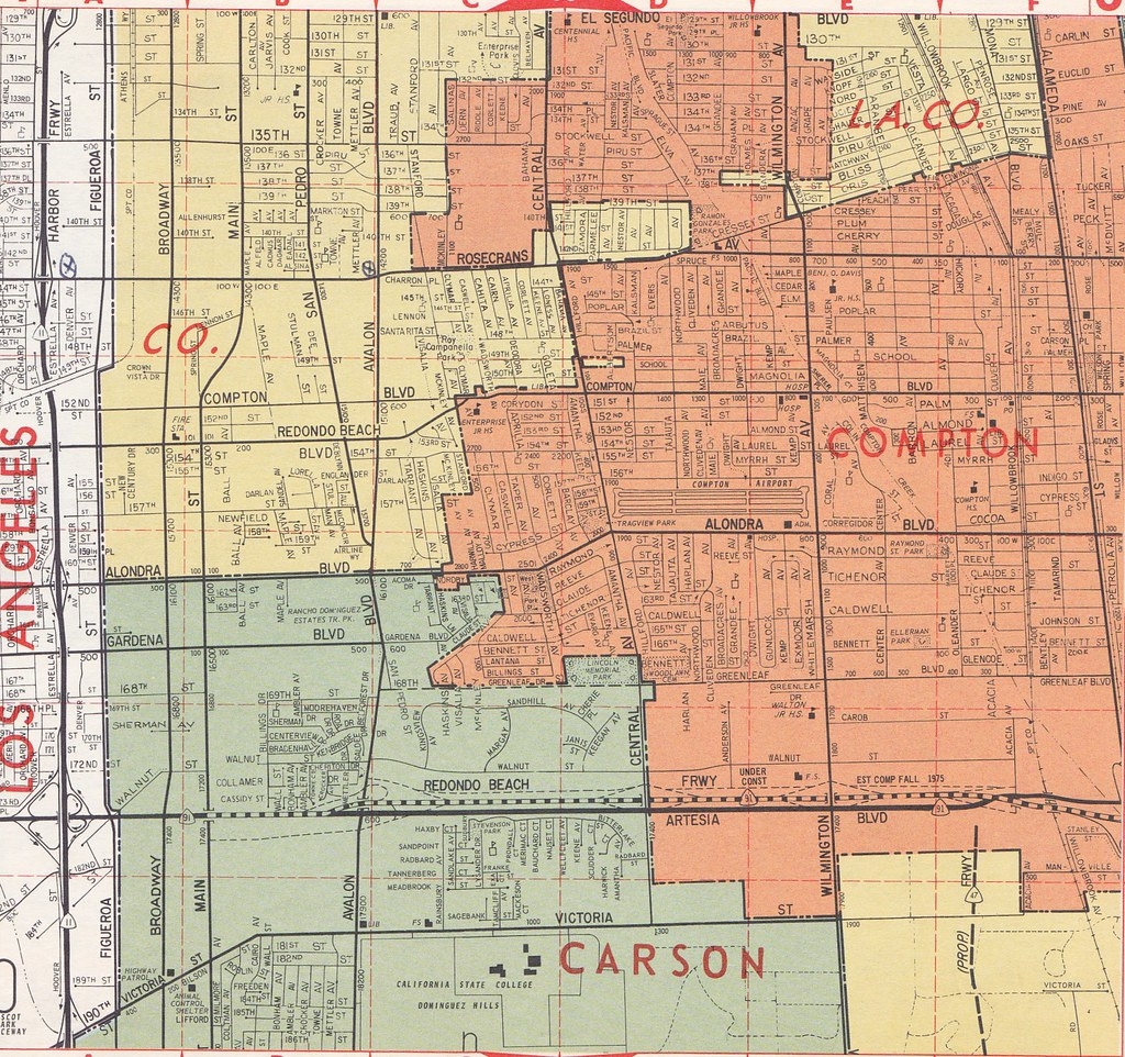 Carson Map on