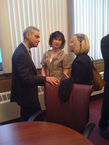Meeting with Mayor Emanuel | by 50th Ward Chicago