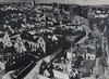 Rothenburg ob der Tauber jak vypadal po náletu v roce 1945, foto: Petr Nejedlý