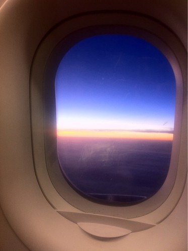 Sunset outside the plane | by edmundyeo