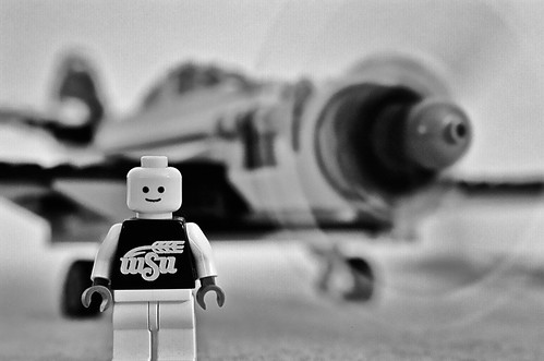 WSU Lego Plane