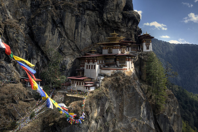 The Taktshang Goemba (Tiger's Nest monastery)